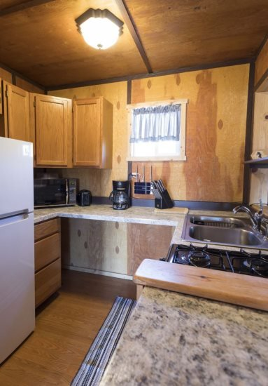 Compact kitchen has everything you`ll need