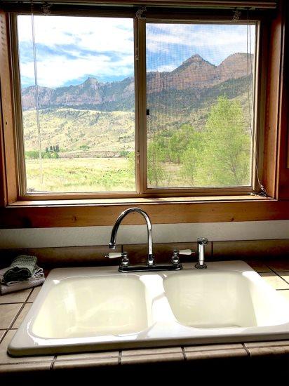Great kitchen view