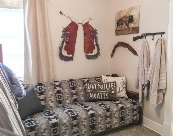 Bedroom 2 Full Size Sofa Sleeper