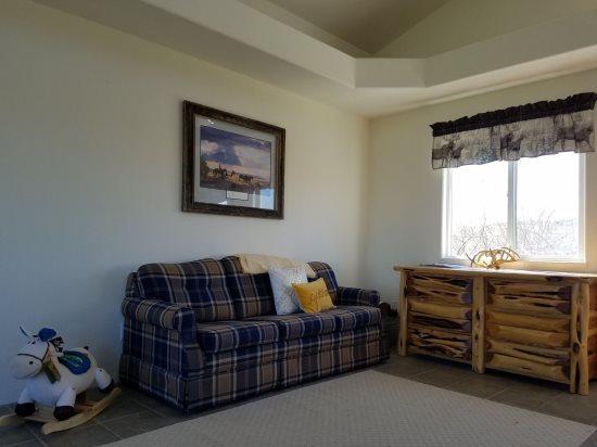 Main House Living Room with Sleeper Sofa