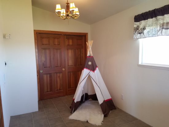 Teepee for the kids