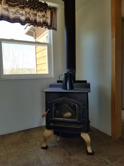 Guest House stove