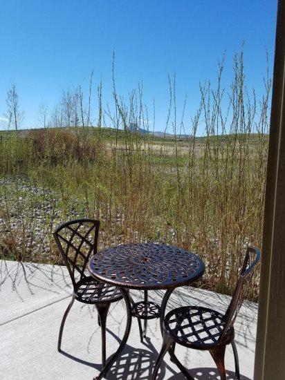 Guest House patio
