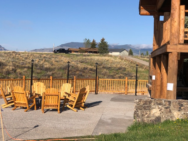 Outdoor Seating Area and Fire Pit
