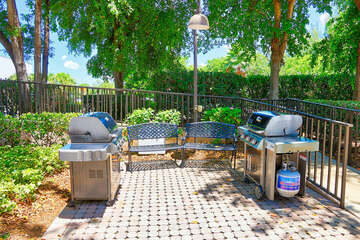 2nd grilling area