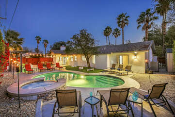 The pool area will be the highlight of your trip!
