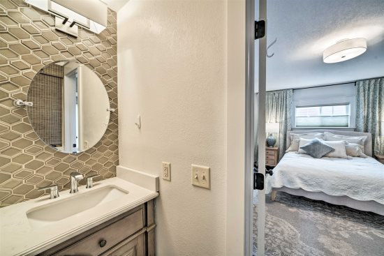 Master Bedroom with attached bath