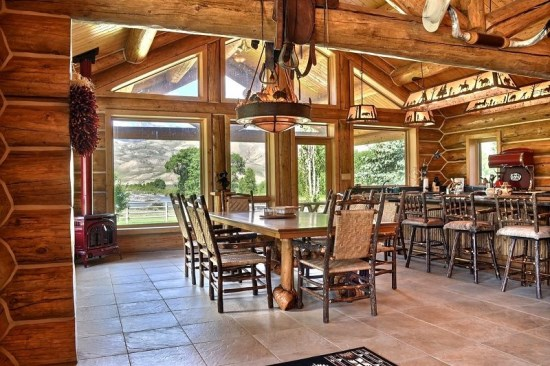 Open Concept, Large dining and Kitchen area.