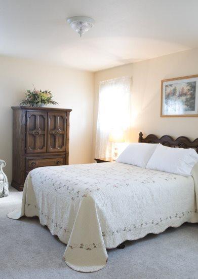 Guest Room with Queen Bed on main floor