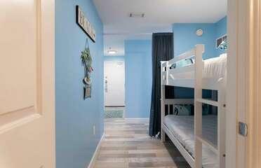 Twin/Twin bunk area