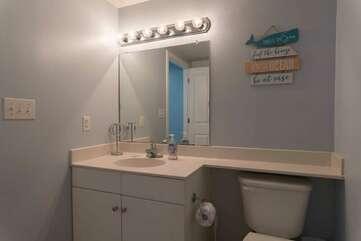 Bunk area bathroom