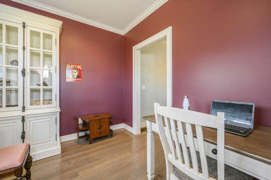 Office for remote working or learning-445 Lower County Rd Harwich- Cape Cod- New England Vacation Rentals.