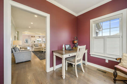 Office of Living Room-445 Lower County Rd Harwich- Cape Cod- New England Vacation Rentals.