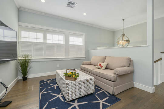 Second floor sitting area-445 Lower County Rd Harwich- Cape Cod- New England Vacation Rentals.