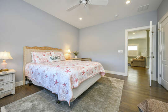Bedroom #3 Queen bed-445 Lower County Rd Harwich- Cape Cod- New England Vacation Rentals.