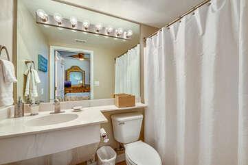 Third bathroom (adjacent to Queen bedroom)