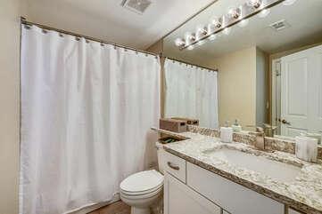 Second bathroom (adjacent to Twin bedroom)