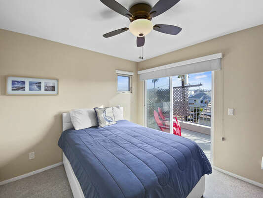 Guest Bedroom, Full Bed + Twin Trundle - Third Floor