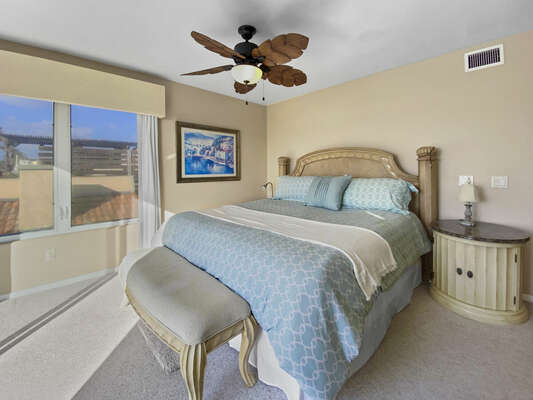 Master Bedroom, King - Third Floor