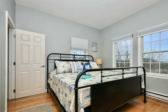 Bedroom #1 - King bed with ocean views - 25 Bank Street Unit #2 Harwich Port - New England Vacation Rentals