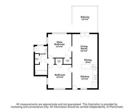 Floor plan for Sea Breeze at 25 Bank Street Unit #2 Harwich Port - New England Vacation Rentals