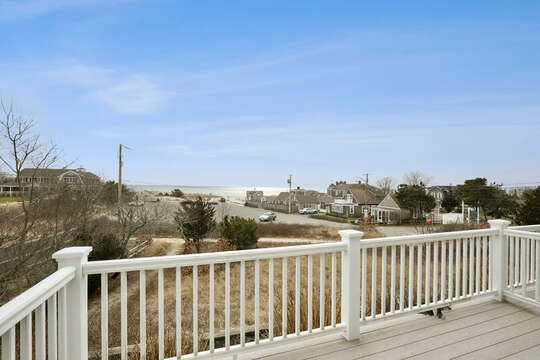 Spectacular view of Bank Street Beach at Sea Breeze - 25 Bank Street Unit #2 Harwich Port - New England Vacation Rentals