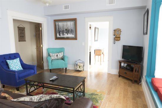 Electic living room decor