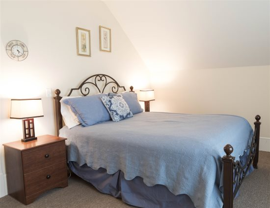 Bedroom 2 with queen bed upstairs