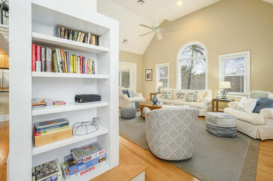 Looking into living area from Dining-51 Nantucket St Hyannis - Cape Cod- New England Vacation Rentals