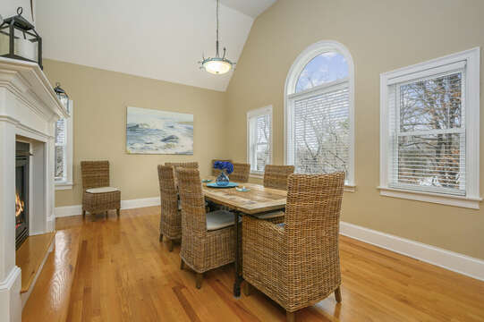 Dining room-51 Nantucket St Hyannis - Cape Cod- New England Vacation Rentals