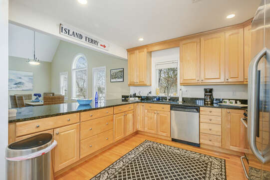 Second level Large kitchen -51 Nantucket St Hyannis - Cape Cod- New England Vacation Rentals