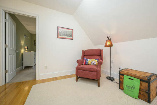 Third floor hallway grab your favorite book and relax-51 Nantucket St Hyannis - Cape Cod- New England Vacation Rentals