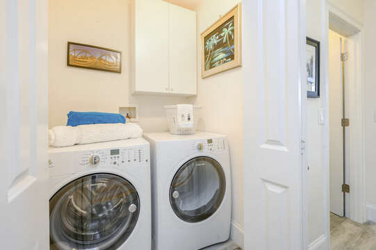 First floor Laundry room-51 Nantucket St Hyannis - Cape Cod- New England Vacation Rentals