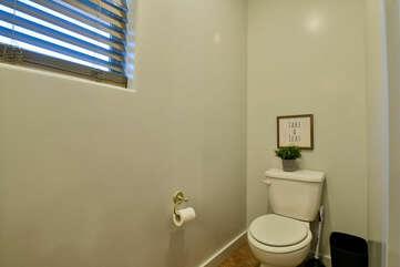 Toilet and Window.