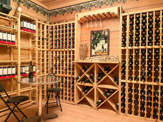 Downstairs Wine Room