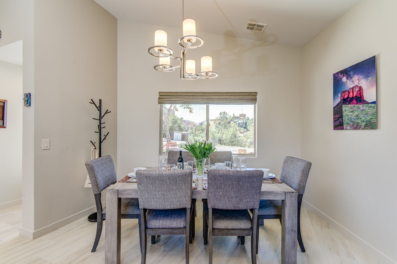 Dining Area with Seating for Eight
