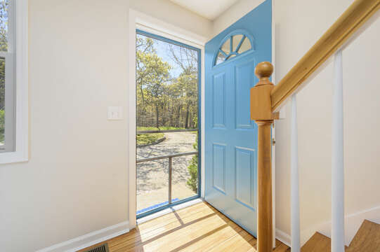 Front door -875 Great Pond-Eastham- Cape Cod- New England Vacation Rentals
