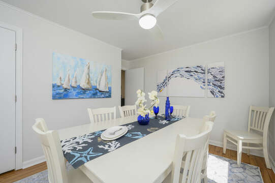 Dining room -875 Great Pond-Eastham- Cape Cod- New England Vacation Rentals