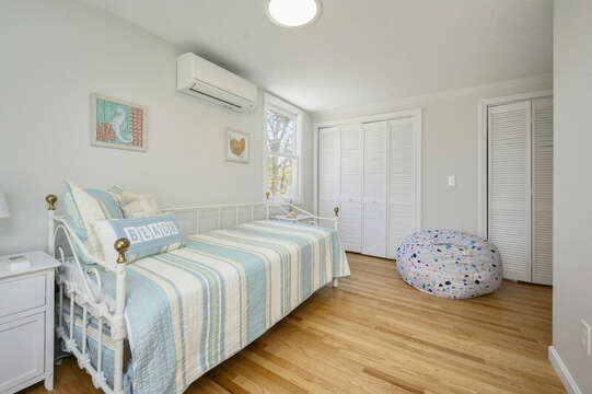 Bedroom #2 Trundle and twin, fun bean bag chairs-875 Great Pond-Eastham- Cape Cod- New England Vacation Rentals