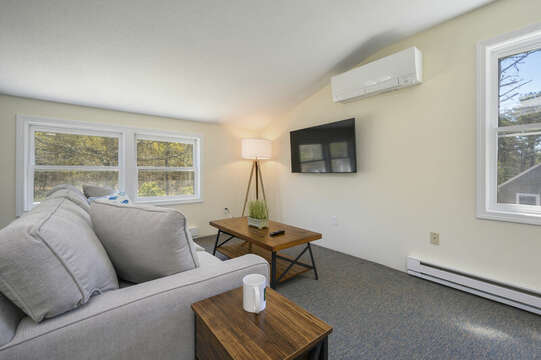 Bonus Apartment over garage couch and flat screen tv-875 Great Pond-Eastham- Cape Cod- New England Vacation Rentals