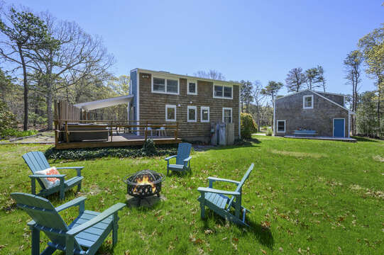 Fire pit-875 Great Pond-Eastham- Cape Cod- New England Vacation Rentals