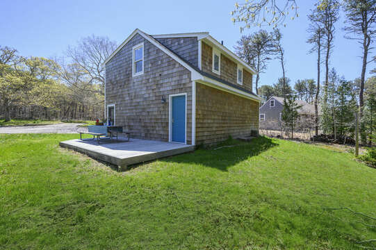 Garage with apartment above and private deck-875 Great Pond-Eastham- Cape Cod- New England Vacation Rentals