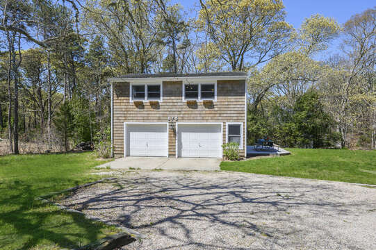 Garage with apartment above-875 Great Pond-Eastham- Cape Cod- New England Vacation Rentals