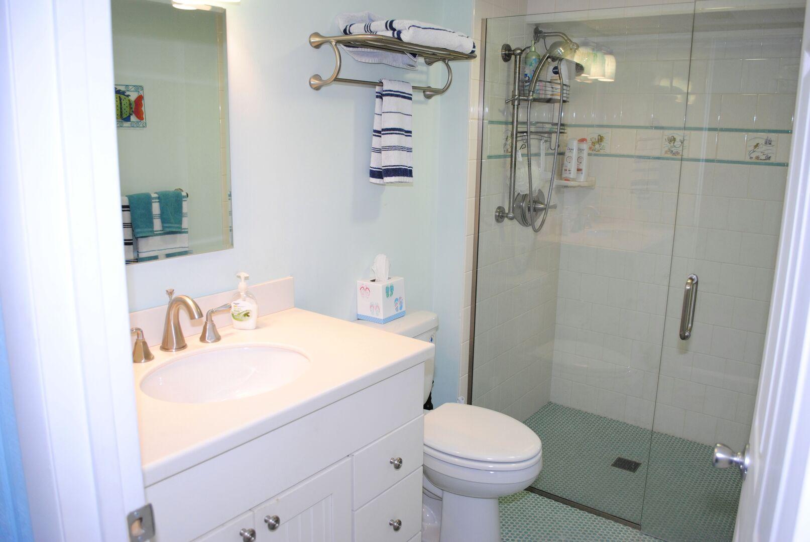 Hallway Bathroom - Ground Level