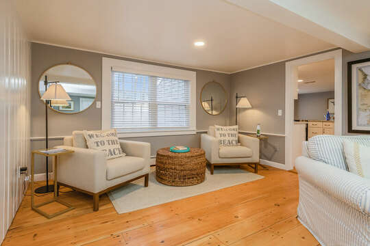Additional seating area off living room75 Pinewood Rd Hyannis Cape Cod- New England Vacation Rentals