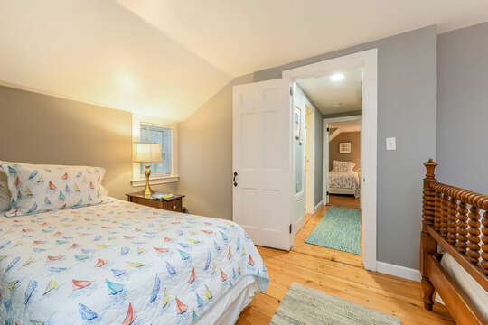 Bedroom #3 across the hall has 3 Twin beds-75 Pinewood Rd Hyannis Cape Cod- New England Vacation Rentals