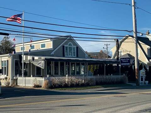 The Black Cat Tavern across from Hyannis Harbor-Hyannis Cape Cod- New England Vacation Rentals