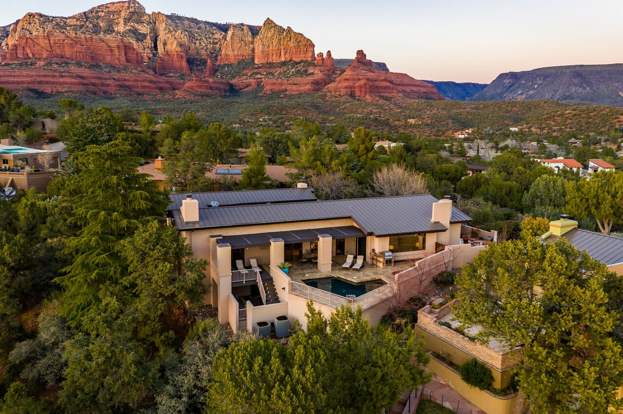 Perched on a Hilltop with Stunning Views