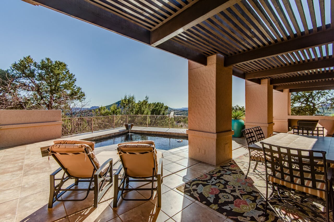 Lounge by the Pool and Enjoy Outdoor Dining