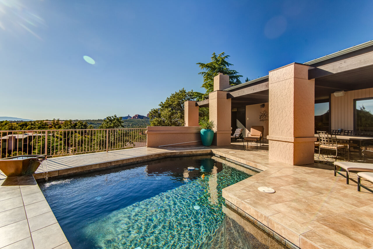 Great Outdoor Space with a Private Pool